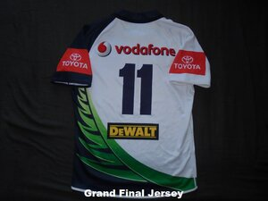 2011 Taukeiaho match worn Grand Final jersey rear.jpg