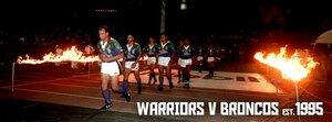Warriors 1995 first match.jpg