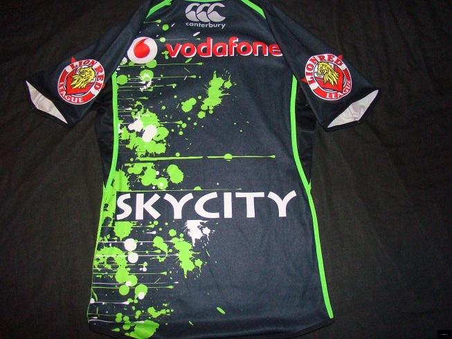 2012 Warriors players fit training jersey back