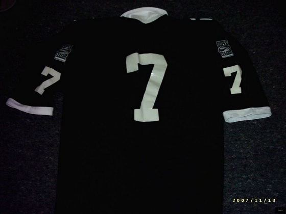 1996 New Zealand XIII Oceania jersey #7 back