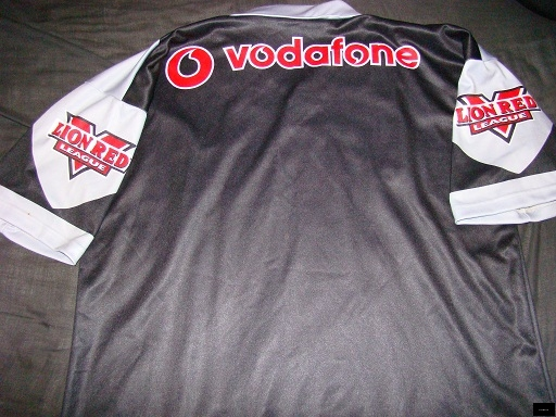 2003 Warriors home jersey back