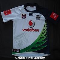 2011 Taukeiaho match worn Grand Final jersey front.jpg