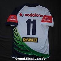 2011 Taukeiaho match worn Grand Final jersey rear.jpg